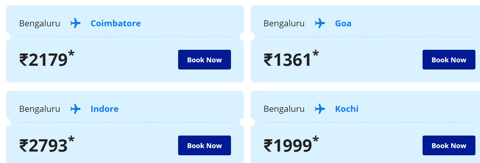 flight ticket offer